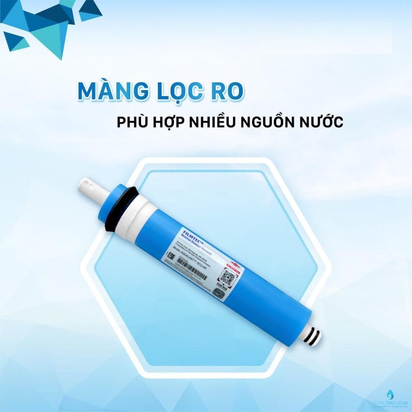 Màng lọc RO chính hãng phù hợp với nhiều loại máy lọc nước