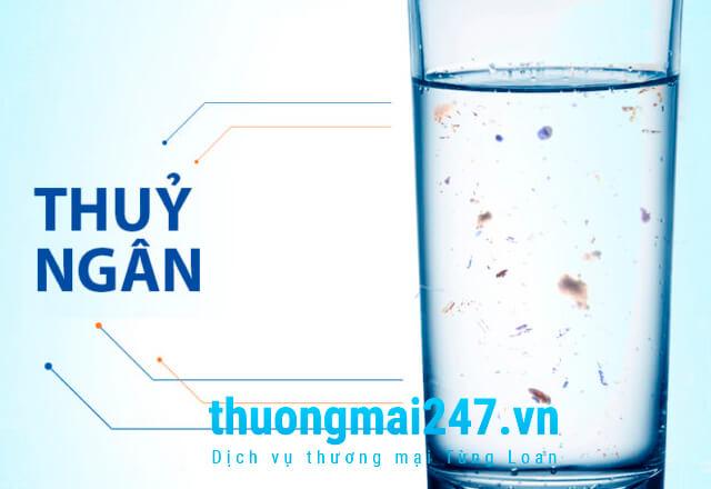 uống nước nhiễm độc thuỷ ngân rất nguy hiểm