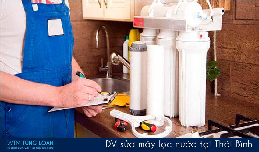DV sửa máy lọc nước tại Thái Bình