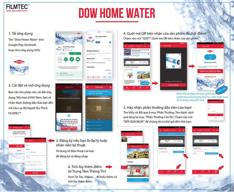 Ứng dụng down home water
