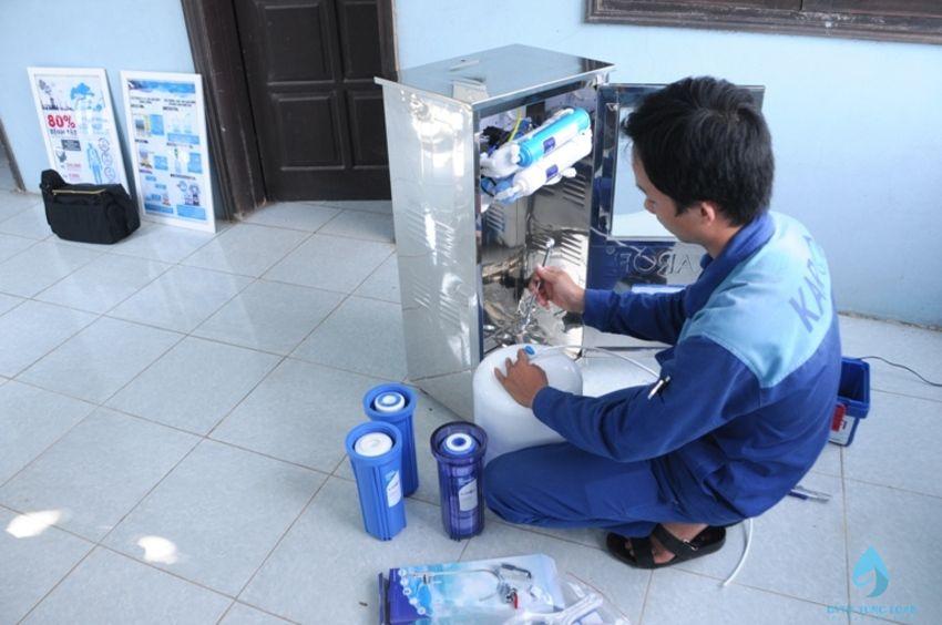 Lắp đặt, sửa chữa bảo hành máy lọc nước