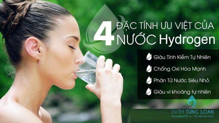 Lợi ích của nước Hydrogen với sức khỏe