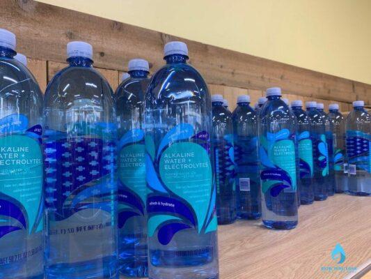 Sản phẩm nước kiềm Alkaline đóng chai