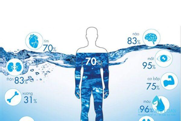 Nước vô cùng quan trọng với sức khoẻ con người