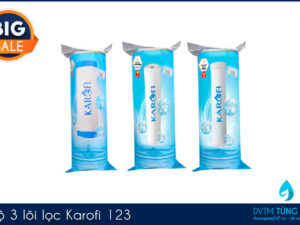 Bộ lõi lọc nước Karofi 123 chính hãng