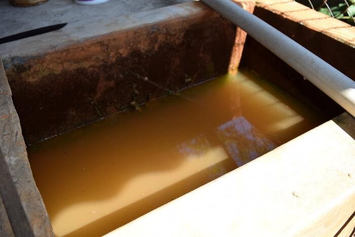 Nguyên nhân khiến nước bị nhiễm phèn