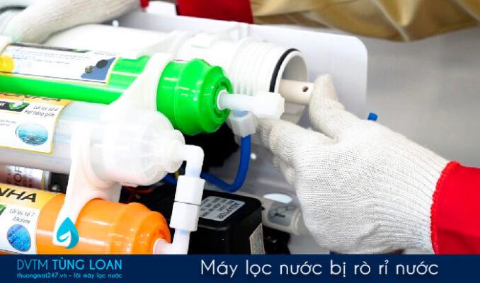 Máy lọc nước bị rò rỉ nước