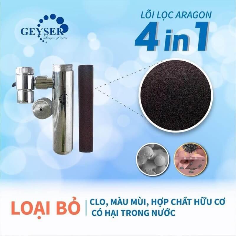 hiệu quả của thiết bị lọc nước tại vòi