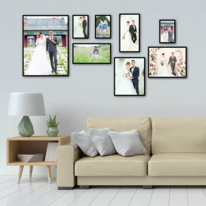 Khung ảnh treo tường mang phong cách cá nhân