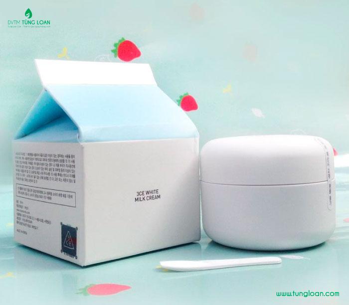 3CE White Milquidro Facial Cream