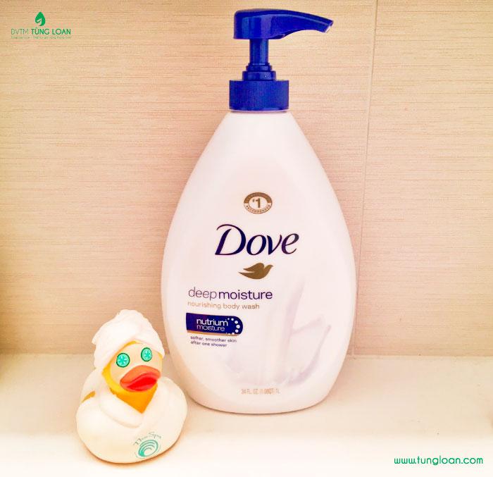 Sữa tắm Dove Body Wash Nutrium Moisture Pump dưỡng ẩm, nâng tone da