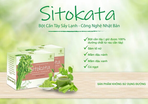 Bột cần tây Sitokata được phân phối độc quyền bởi F99