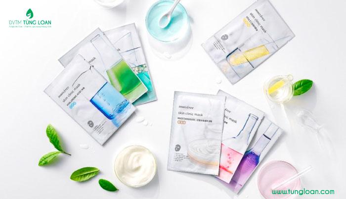 Mặt nạ giấy Innisfree Skin Clinic Mask BHA 20ml