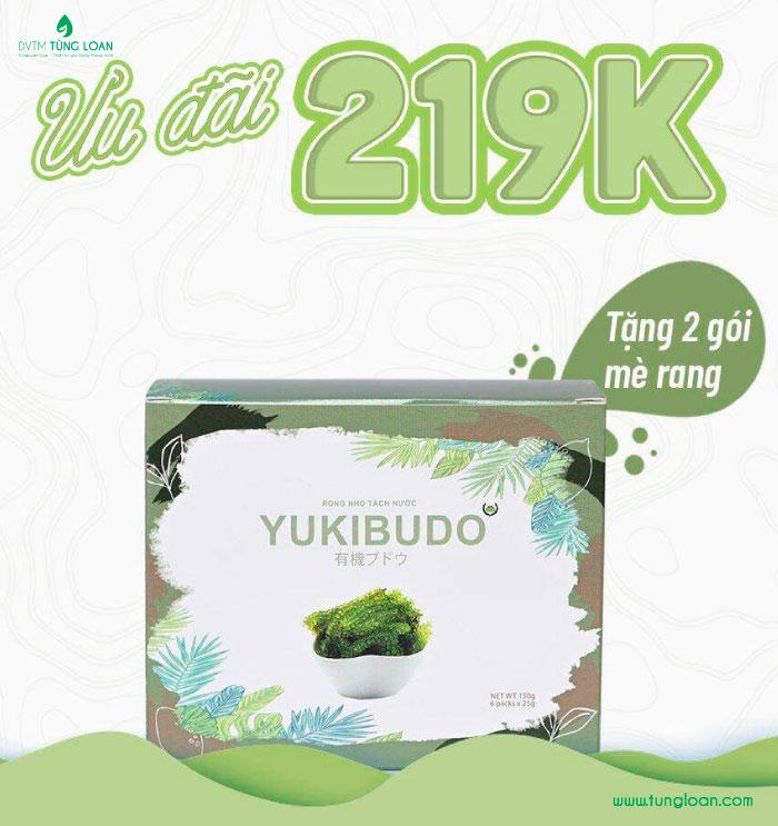 Ưu đãi khi mua Yukibudo